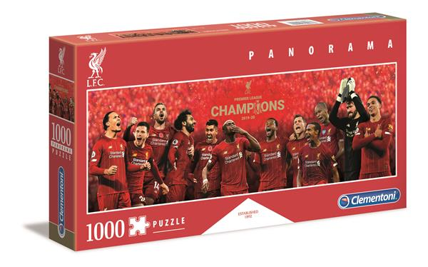 Clementoni High Quality Collection - Panorama Liverpool F.C (1000 bitar)