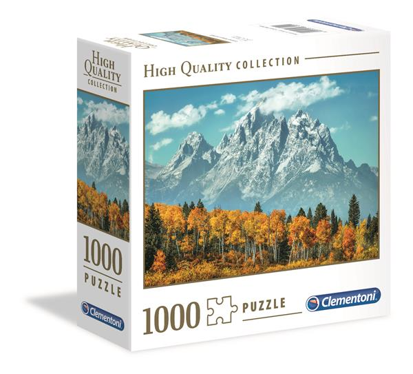 Clementoni High Quality Collection Square - Grand Teton In Fall (1000 bitar)