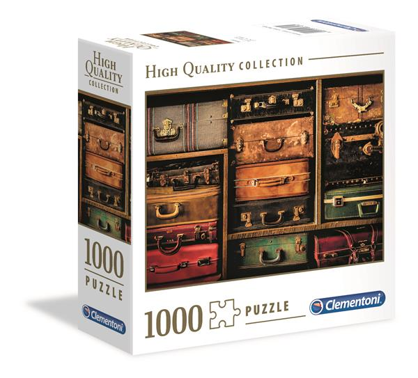 Clementoni High Quality Collection Square - Travel (1000 bitar)