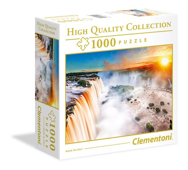 Clementoni High Quality Collection SQUARE - Waterfall (1000 bitar)