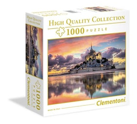 Clementoni High Quality Collection SQUARE - Le Magnifique Mont Saint-Michel (1000 bitar)