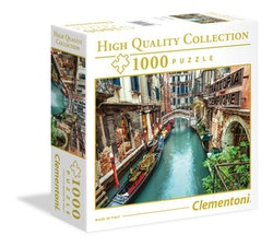 Clementoni High Quality Collection SQUARE - Venice Canal (1000 bitar)