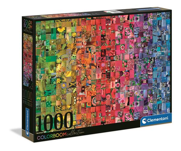 Clementoni High Quality Collection - Collage Colorboom (1000 bitar)