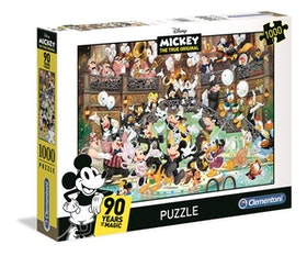 Clementoni High Quality Collection - Mickey 90 Celebration (1000 bitar)