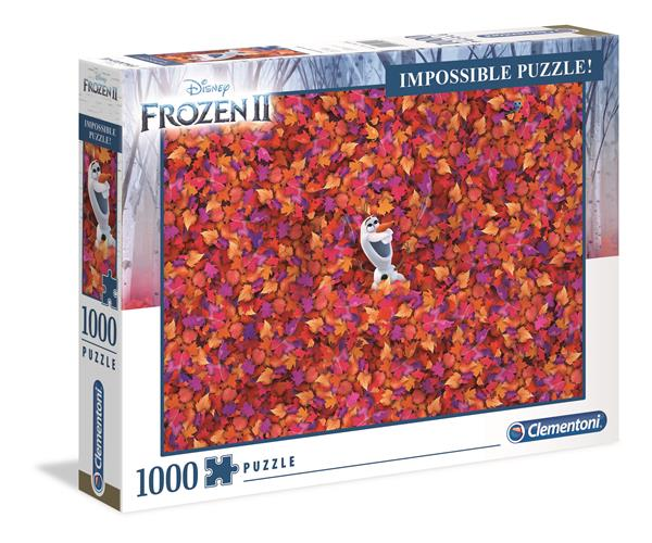 Clementoni High Quality Collection - Impossible Puzzle Frozen 2 (1000 bitar)