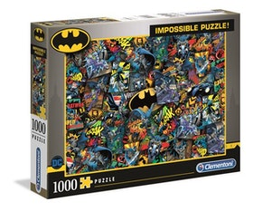 Clementoni High Quality Collection - Impossible Puzzle Batman (1000 bitar)