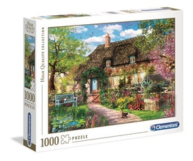 Clementoni High Quality Collection - The Old Cottage (1000 bitar)