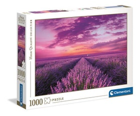 Clementoni High Quality Collection - Lavender Field (1000 bitar)