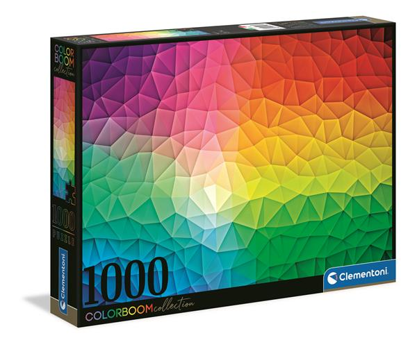Clementoni High Quality Collection - Mosaic Colorboom (1000 bitar)