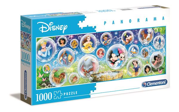 Clementoni High Quality Collection Panorama - Disney (1000 bitar)