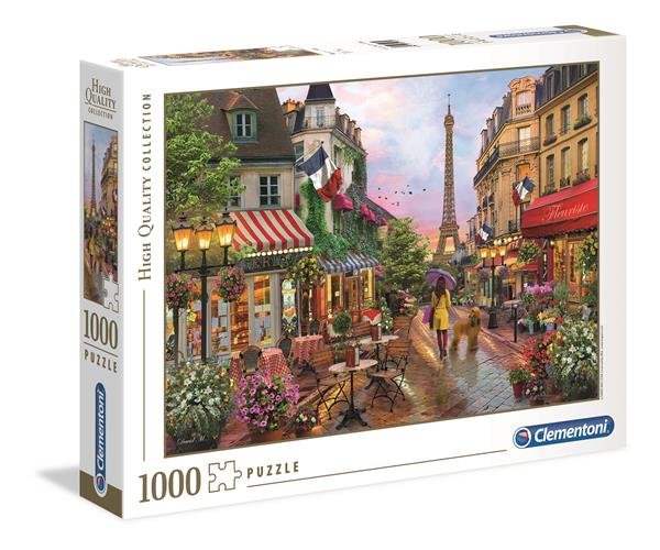 Clementoni High Quality Collection - Flowers In Paris (1000 bitar)