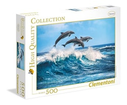 Clementoni High Quality Collection - Dolphins (500 bitar)