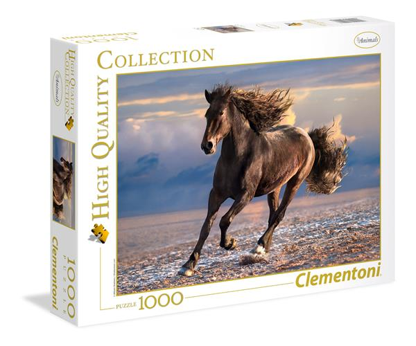 Clementoni High Quality Collection - Free Horse (1000 bitar)