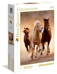 Clementoni High Quality Collection - Running Horses (1000 bitar)