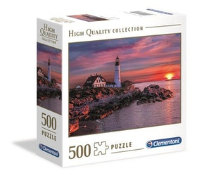 Clementoni High Quality Collection Square - Portland Head Light (500 bitar)