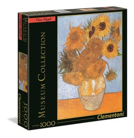 Clementoni High Quality Museum Collection - Girasoli (1000 bitar)
