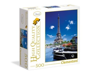 Clementoni High Quality Collection Square - Romantic Promenade In Paris (500 bitar)