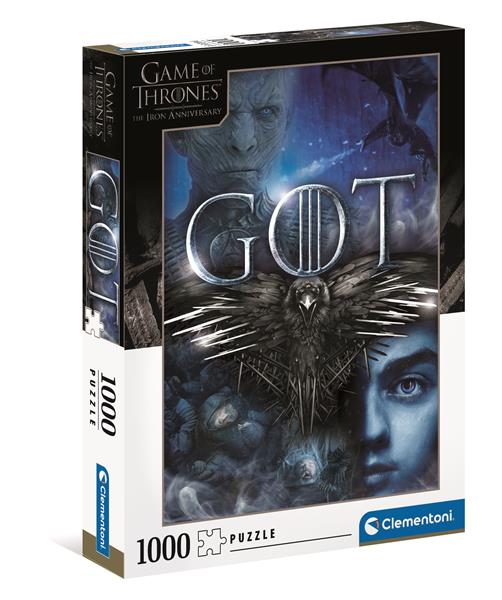 Clementoni High Quality Collection - Game of Thrones (1000 bitar)