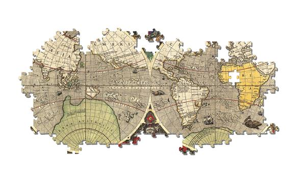 Clementoni High Quality Collection -  Antique Nautical Map (6000 bitar)