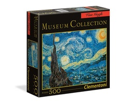 Clementoni High Quality Museum Collection Square - Starry Night (500 bitar)