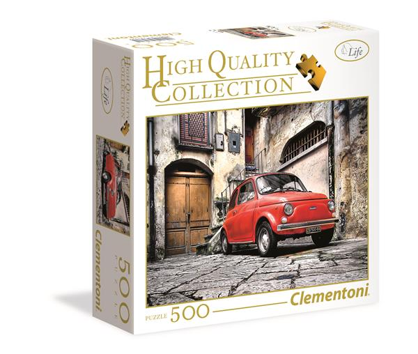 Clementoni High Quality Collection Square -  Fiat 500 (500 bitar)