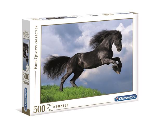 Clementoni High Quality Collection - Black Horse (500 bitar)