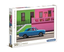 Clementoni High Quality Collection -  The Blue Car (500 bitar)