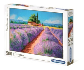 Clementoni High Quality Collection -  Lavender Scent (500 bitar)
