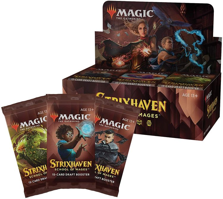 Magic the Gathering: Strixhaven School of Mages Draft Booster Display (36 boosters)