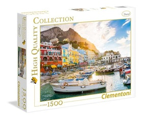 Clementoni High Quality Collection - Capri (1500 bitar)