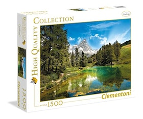 Clementoni High Quality Collection - Blue Lake (1500 bitar)