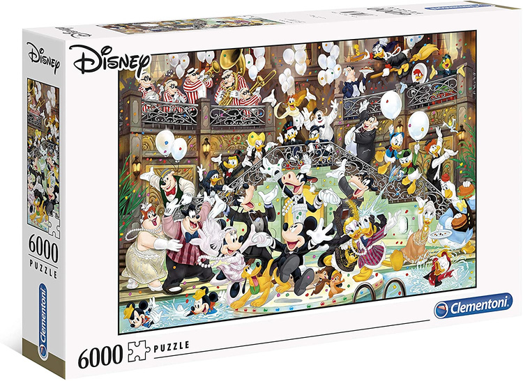 Clementoni High Quality Collection - Disney Masterpiece Gala (6000 bitar)