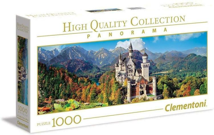 Clementoni High Quality Collection Panorama - Neuschwanstein (1000 bitar)
