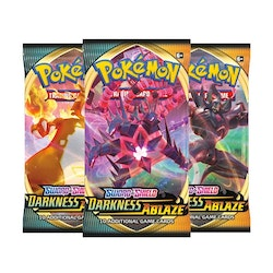 Pokemon Sword & Shield 3 Darkness Ablaze 3st Boosters