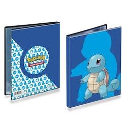 Ultra Pro Squirtle Samlarpärm 4-pocket för Pokemon