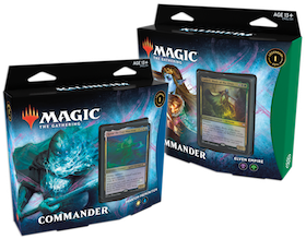 Magic The Gathering: Kaldheim Commander Deck - Elven Empire + Phantom Premonition