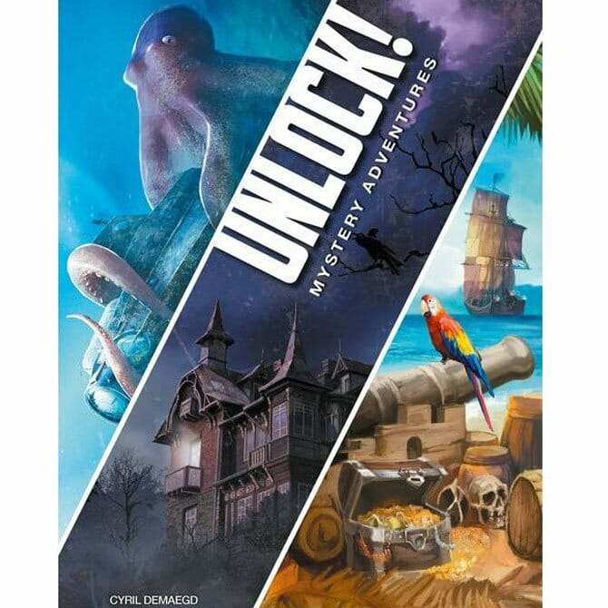 Unlock 2! Mystery Adventures (Engelsk)