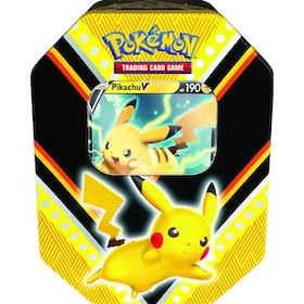 Pokemon V Power Tin - Pikachu