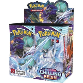 Pokemon Sword & Shield 6: Chilling Reign Display (36st boosters)