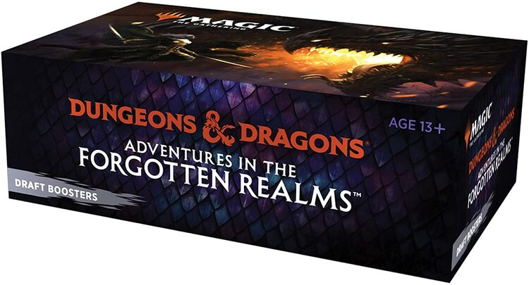 Magic the Gathering: Adventures in the Forgotten Realms Draft Booster Display (36 boosters)