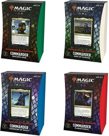 Magic: The Gathering Adventures in the Forgotten Realms Commander Deck Bundle