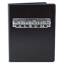 Ultra Pro 4-Pocket Portfolio Collector Black
