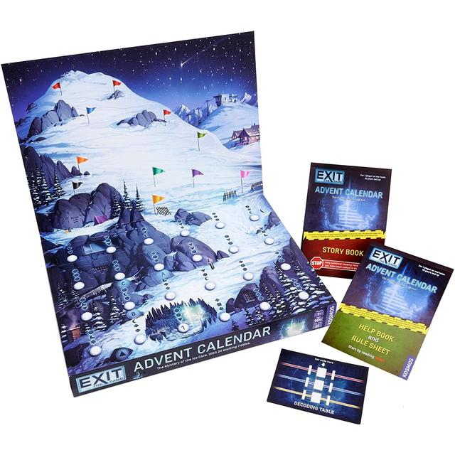 EXIT: The Game Advent Calendar the Mystery of the Ice Cave - Adventskalender