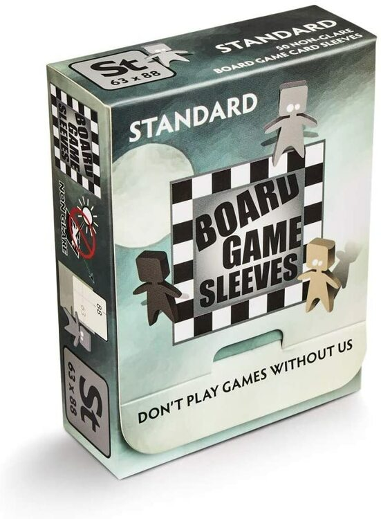 Arcane Tinman Board Game Sleeves - Standard (Non-Glare / 63 x 88) 50st