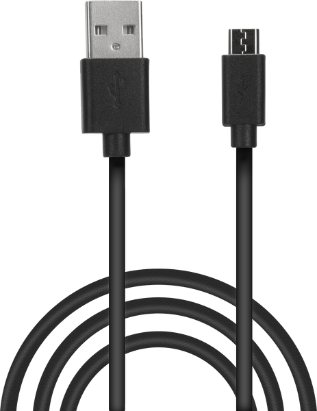 SpeedLink - STREAM Play & Charge USB Cable - for PS4, black