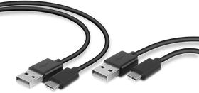 SpeedLink - STREAM Play & Charge USB-C Cable Set for PS5, black