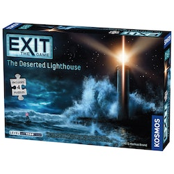 Exit: The Game + Puzzle The Deserted Lighthouse (Engelsk)