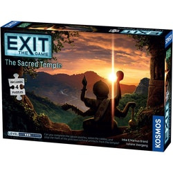 Exit: The Game + Puzzle The Sacred Temple (Engelsk)