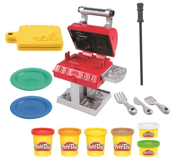 Play-Doh Kitchen Creations Grill 'n Stamp BBQ Playset