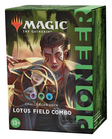 Magic The Gathering Pioneer Challenger Deck 2021 Lotus Field Combo